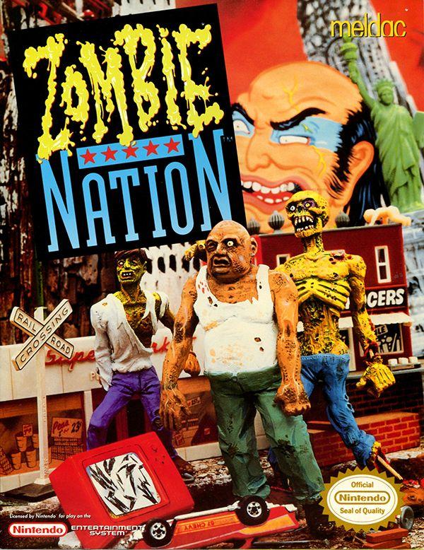 Zombie Nation okładka gry